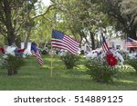 Memorial Day Flags Placed At...