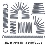 springs logo. isolated springs... | Shutterstock .eps vector #514891201