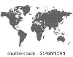 abstract background. world map...   Shutterstock .eps vector #514891591