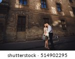 the happinest couple in love... | Shutterstock . vector #514902295