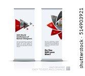 business vector set of modern... | Shutterstock .eps vector #514903921