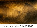 the texture of black gold | Shutterstock . vector #514905145