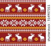 scandinavian style seamless ...   Shutterstock .eps vector #514907311