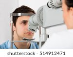 close up of a young man... | Shutterstock . vector #514912471