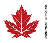 a vintage looking vector maple... | Shutterstock .eps vector #514920505