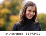 closeup portrait of a happy... | Shutterstock . vector #51493432