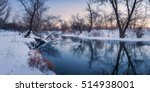Panoramic Winter Landscape Wit...