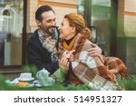 only love can warm us | Shutterstock . vector #514951327