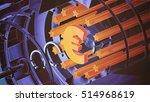 euro 3d illustration | Shutterstock . vector #514968619