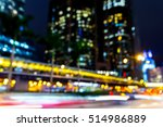 abstract bokeh city light for... | Shutterstock . vector #514986889