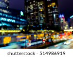 abstract bokeh city light for... | Shutterstock . vector #514986919