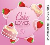 cake elements   vector... | Shutterstock .eps vector #514987051