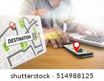 Small photo of City Map DESTINATION Route Way Route Way Route City Map Destination Route NAVIGATIO