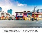 singapore  march 5 ... | Shutterstock . vector #514994455