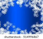 snowflake background | Shutterstock . vector #514996867