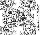 abstract elegance seamless... | Shutterstock . vector #515009689