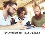 international group of three... | Shutterstock . vector #515012665
