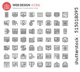 web design icons   thin line...