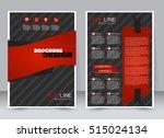 abstract flyer design...   Shutterstock .eps vector #515024134