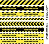 vector set of seamless tapes....   Shutterstock .eps vector #515028094