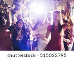 people party celebration drinks ... | Shutterstock . vector #515032795