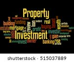 Property Investment  Word Clou...