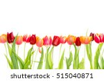 Isolated Border On White With...