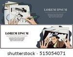 stock illustration. people in... | Shutterstock .eps vector #515054071