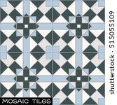 royal islamic mosaic floor tile ...   Shutterstock .eps vector #515055109