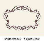frames .vintage vector.well... | Shutterstock .eps vector #515058259