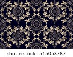 seamless ornament on background.... | Shutterstock .eps vector #515058787