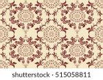 seamless ornament on background.... | Shutterstock .eps vector #515058811
