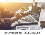 young  professional businessman ... | Shutterstock . vector #515060155