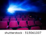movie theater with empty seats... | Shutterstock . vector #515061337