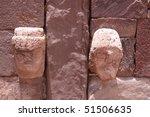 tiwanaku ruins  la paz | Shutterstock . vector #51506635