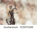 statue of justice on bokeh... | Shutterstock . vector #515075185
