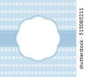 blue card template.    Shutterstock . vector #515085211