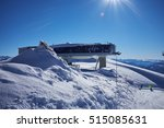 Ski Resort Panorama With Cable...