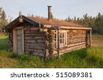 Small Cabin At Fort Selkirk...