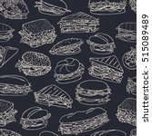 vector seamless pattern with... | Shutterstock .eps vector #515089489