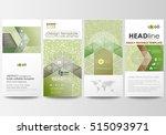 flyers set  modern banners.... | Shutterstock .eps vector #515093971