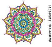 vector hand drawn doodle... | Shutterstock .eps vector #515095714