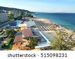 resort sunny beach bulgaria... | Shutterstock . vector #515098231