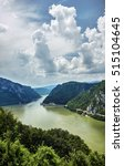 danube river  border between... | Shutterstock . vector #515104645