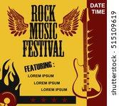 Rock Music Festival Poster ...