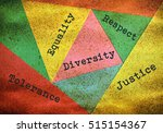 concept about people diversity... | Shutterstock . vector #515154367