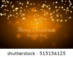 merry christmas and happy new... | Shutterstock .eps vector #515156125