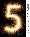 Sparkler Firework Light Number...