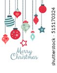 vector colorful greetings cards ... | Shutterstock .eps vector #515170324