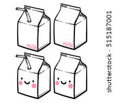 cute milk or yogurt carton....
